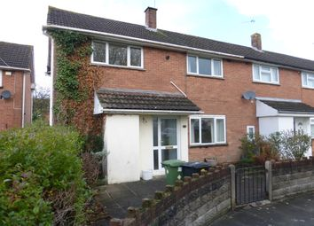 Thumbnail 3 bed end terrace house for sale in Dunster Road, Llanrumney, Cardiff