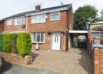Thumbnail 3 bed semi-detached house for sale in Norfolk Crescent, Failsworth, Manchester