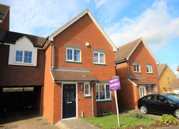 Thumbnail 3 bed link-detached house for sale in Campbell Road, Hawkinge