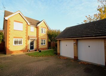 Thumbnail 4 bedroom detached house for sale in Creslow Way, Stone, Aylesbury