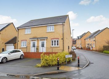 Thumbnail 3 bed semi-detached house to rent in Brompton Road, Hamilton, Leicester