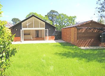 Thumbnail 3 bed detached bungalow for sale in Copse Road, Burley, Ringwood