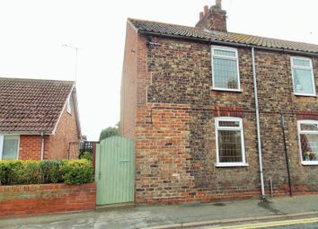Thumbnail 2 bed terraced house for sale in Flatgate, Howden, Goole