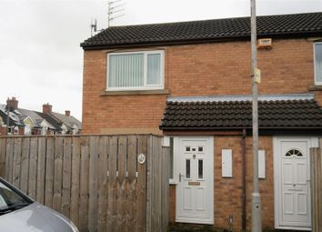 Thumbnail 1 bed end terrace house to rent in Brook Court, Bedlington