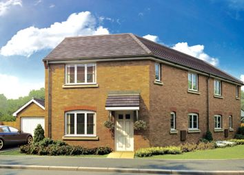 Thumbnail 3 bedroom detached house for sale in Whitecross, Coates Road, Eastrea, Whittlesey, Peterborough