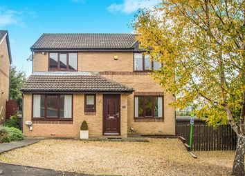 Thumbnail 3 bed detached house for sale in Broom Wood Court, Prudhoe