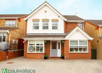 Thumbnail 4 bedroom detached house for sale in Wilkinson Close, Cheshunt, Waltham Cross