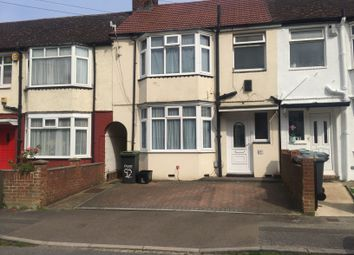 Thumbnail 3 bed terraced house to rent in Shelley Road, Luton, Beds