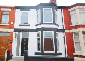 Thumbnail 3 bedroom terraced house for sale in Earlsfield Road, Wavertree, Liverpool