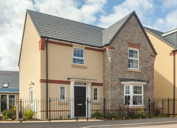 "Thumbnail 4 bedroom detached house for sale in ""Shenton"" at Tiverton Road, Cullompton"
