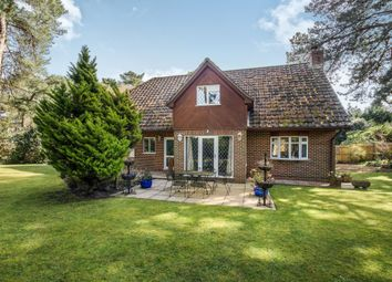 Thumbnail 5 bedroom detached house for sale in Golf Links Road, Ferndown