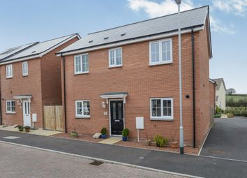 Thumbnail 3 bed detached house for sale in Quartly Drive, Bishops Hull, Taunton