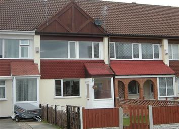 Thumbnail 3 bed terraced house to rent in Cheverton Close, Upton, Wirral