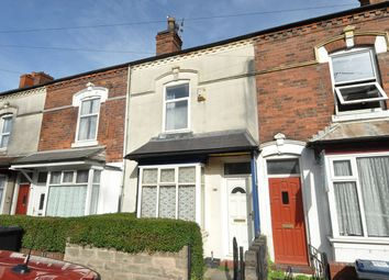 Thumbnail 2 bed terraced house for sale in Heeley Road, Selly Oak, Birmingham