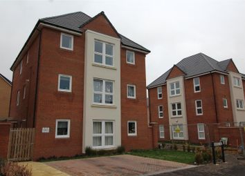 Thumbnail 2 bed flat for sale in Chapman Avenue, Peterborough