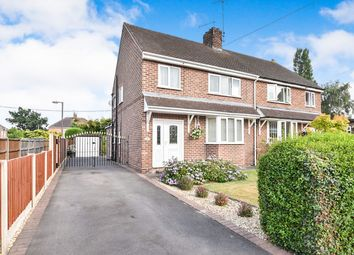 Thumbnail 3 bed semi-detached house for sale in Leawood Road, Midway, Swadlincote