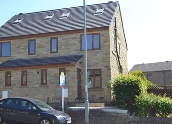 Thumbnail 4 bed semi-detached house for sale in Royal Oak Mews, Ambler Thorn, Queensbury, Bradford