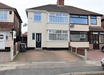 Thumbnail 3 bed property for sale in Wyndham Avenue, Bowring Park, Liverpool