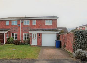 Thumbnail 4 bed semi-detached house for sale in The Alders, Burton-On-Trent