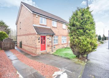 Thumbnail 3 bedroom semi-detached house for sale in Lammermuir Way, Airdrie
