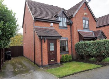 Thumbnail 2 bed semi-detached house for sale in Barwoods Drive, Chester
