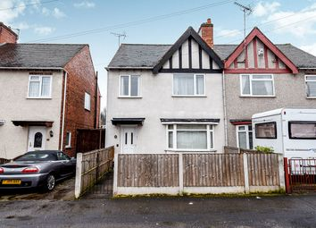 Thumbnail 3 bed semi-detached house for sale in Hanbury Road, Chaddesden, Derby