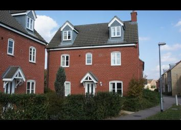 Thumbnail 4 bed detached house to rent in Bevington Way, Eynesbury, St. Neots