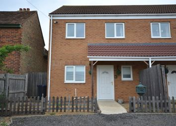 Thumbnail 3 bedroom semi-detached house to rent in Hillrow, Haddenham, Ely