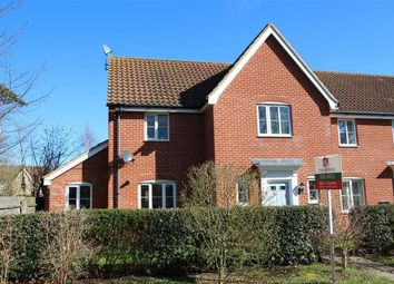 Thumbnail 3 bed semi-detached house for sale in Thomas Crescent, Grange Farm, Kesgrave, Ipswich