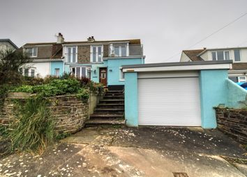 Thumbnail 4 bed semi-detached house for sale in Bay View Road, Looe
