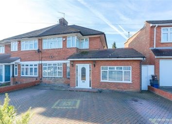 Thumbnail 4 bed semi-detached house for sale in Broadfields Avenue, Edgware