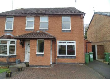 Thumbnail 3 bed semi-detached house to rent in Warner Close, Whetstone, Leics
