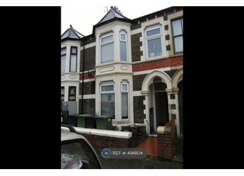 Thumbnail 1 bed flat to rent in Theobald Road (Gff), Cardiff