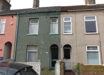 Thumbnail 2 bedroom terraced house for sale in St. Leonards Road, Lowestoft
