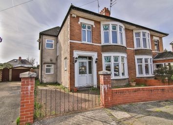 Thumbnail 4 bed semi-detached house for sale in St Gowan Avenue, Heath, Cardiff