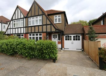 Thumbnail 3 bed semi-detached house to rent in Grasmere Avenue, Wembley