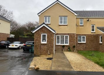 Thumbnail 3 bed semi-detached house for sale in Fforest Fach, Tycroes, Ammanford