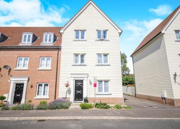 Thumbnail 4 bedroom semi-detached house for sale in Meadow Crescent, Purdis Farm, Ipswich