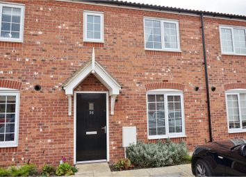 Thumbnail 3 bed terraced house for sale in The Furrows, Moulton