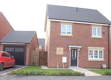 Thumbnail 3 bed detached house for sale in Buxton Crescent, Broughton Astley, Leicester