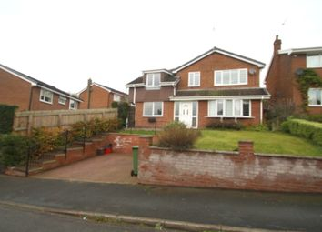 Thumbnail 4 bed detached house to rent in Croft Close, Utkinton, Tarporpey