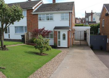 Thumbnail 3 bedroom semi-detached house for sale in Longhill Rise, Kirkby-In-Ashfield, Nottingham