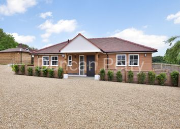 Swan Lodge, Bell Bar, Brookmans Park, Herts AL9. 2 bed detached bungalow
