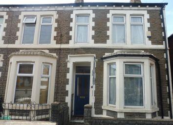 Thumbnail 3 bed end terrace house for sale in Wilson Street, Splott, Cardiff