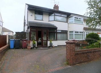 Thumbnail 3 bed semi-detached house for sale in Oak Road, Huyton, Liverpool