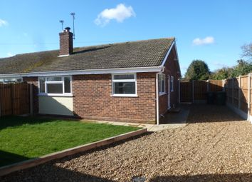 Thumbnail 2 bed semi-detached bungalow for sale in The Paddock, Happisburgh, Norwich