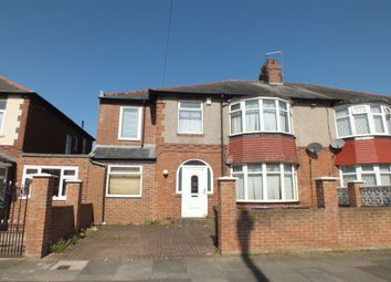 Thumbnail 6 bed semi-detached house for sale in Newminster Road, Fenham, Newcastle Upon Tyne