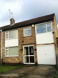 Thumbnail 4 bed semi-detached house to rent in Brixham Drive, Wigston