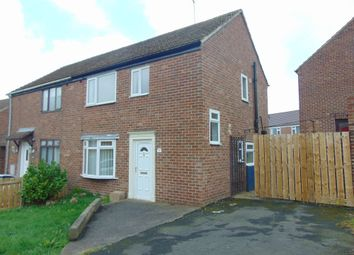Thumbnail 2 bed semi-detached house to rent in Taylor Avenue, Bearpark, Durham