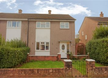 Thumbnail 3 bed semi-detached house for sale in Betjeman Avenue, Caldicot